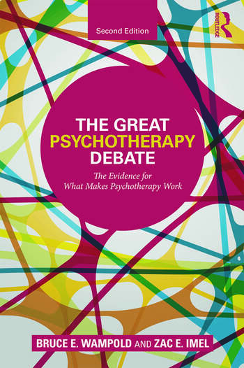 The Great Psychotherapy Debate The Evidence for What Makes Psychotherapy Work book cover