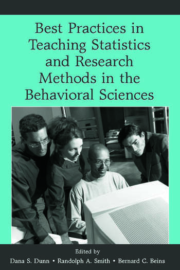Best Practices in Teaching Statistics and Research Methods in the Behavioral Sciences book cover