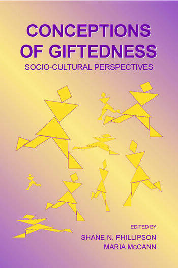 Conceptions of Giftedness Socio-Cultural Perspectives book cover