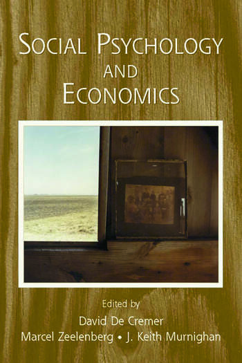 Social Psychology and Economics book cover