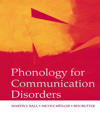 Phonology for Communication Disorders book cover