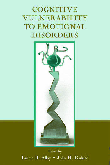 Cognitive Vulnerability to Emotional Disorders book cover