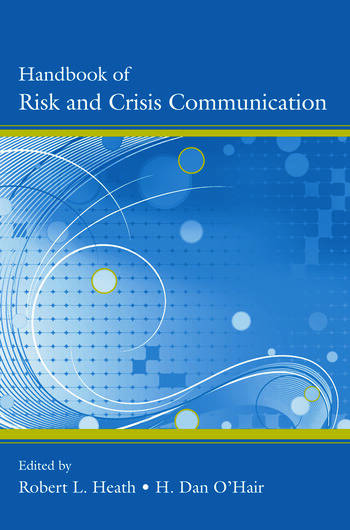 Handbook of Risk and Crisis Communication book cover
