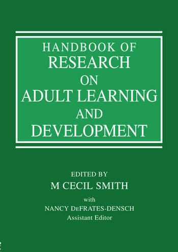 Handbook of Research on Adult Learning and Development book cover