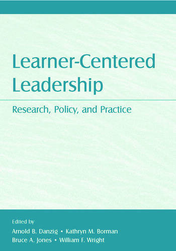 Learner-Centered Leadership Research, Policy, and Practice book cover