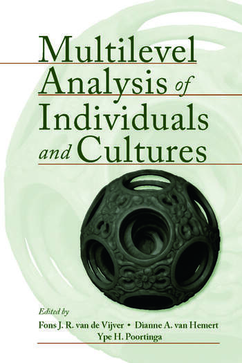 Multilevel Analysis of Individuals and Cultures book cover