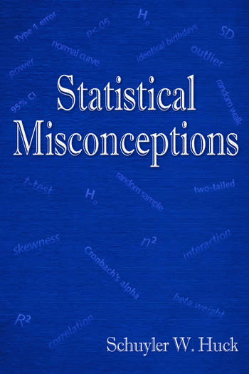 Statistical Misconceptions book cover