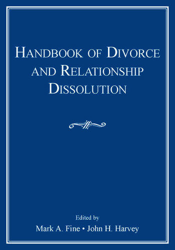 Handbook of Divorce and Relationship Dissolution book cover