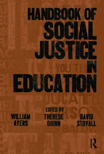 Handbook of Social Justice in Education book cover