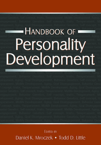 Handbook of Personality Development book cover