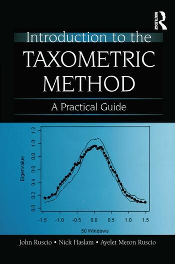 Introduction to the Taxometric Method A Practical Guide book cover