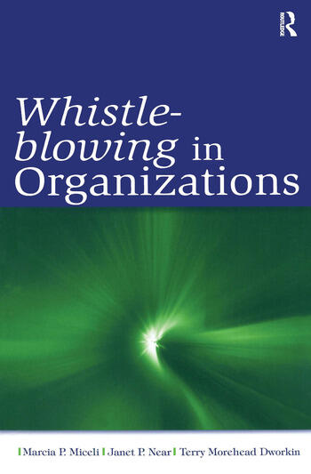 Whistle-Blowing in Organizations book cover