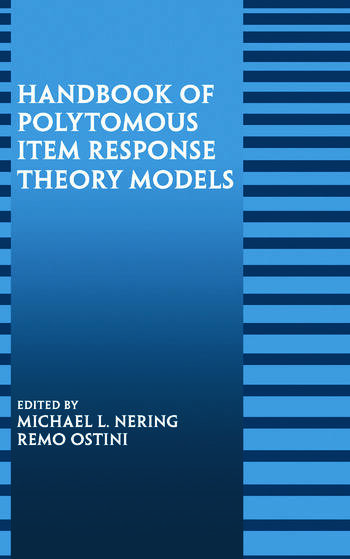 Handbook of Polytomous Item Response Theory Models book cover