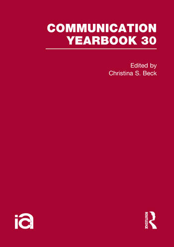 Communication Yearbook 30 book cover