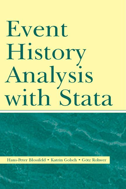 Event History Analysis With Stata book cover