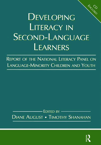 Developing Literacy in Second-Language Learners Report of the National Literacy Panel on Language-Minority Children and Youth book cover