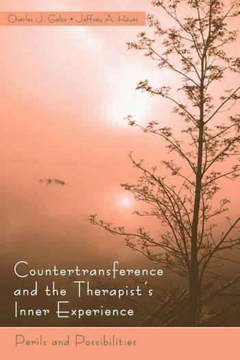 Countertransference and the Therapist's Inner Experience Perils and Possibilities book cover