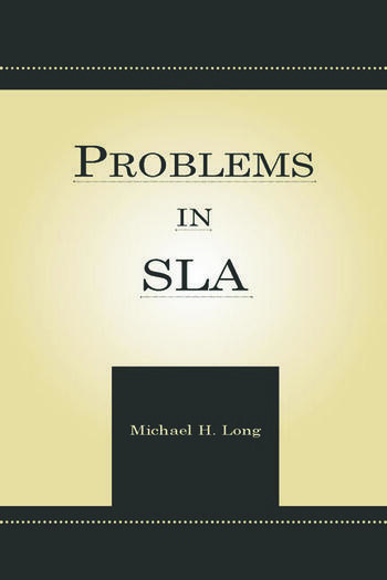 Problems in Second Language Acquisition book cover