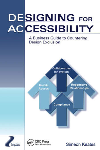 Designing for Accessibility A Business Guide to Countering Design Exclusion book cover