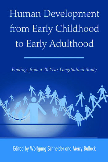 Human Development from Early Childhood to Early Adulthood Findings from a 20 Year Longitudinal Study book cover
