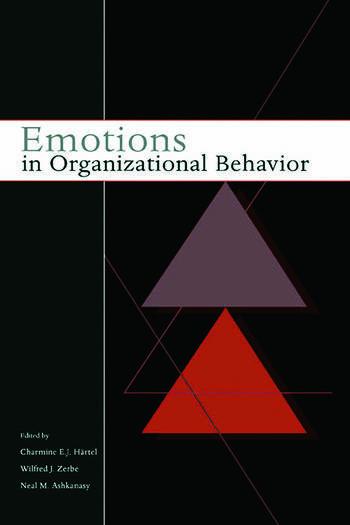 Emotions in Organizational Behavior book cover