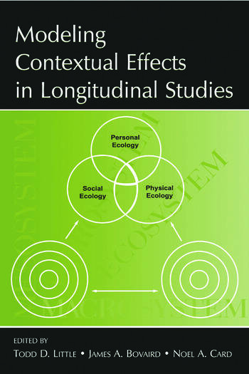 Modeling Contextual Effects in Longitudinal Studies book cover