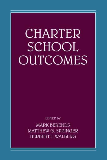 Charter School Outcomes book cover