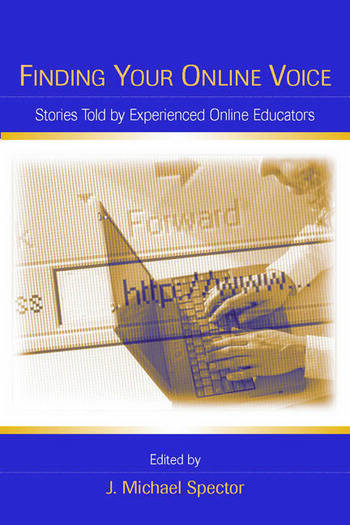 Finding Your Online Voice Stories Told by Experienced Online Educators book cover