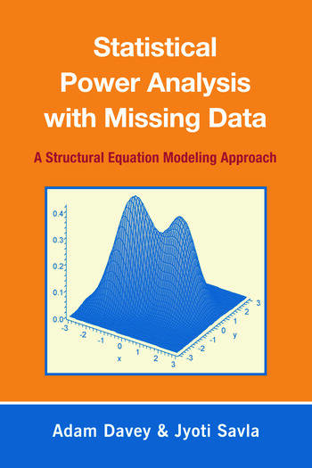 Statistical Power Analysis with Missing Data A Structural Equation Modeling Approach book cover