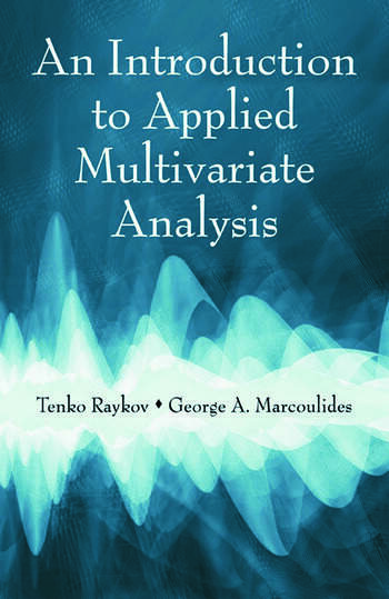 An Introduction to Applied Multivariate Analysis book cover