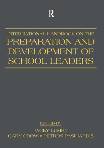 International Handbook on the Preparation and Development of School Leaders book cover