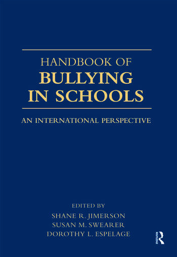 Handbook of Bullying in Schools An International Perspective book cover