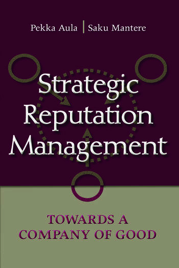 Strategic Reputation Management Towards A Company of Good book cover
