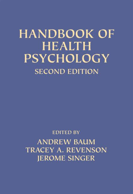 Handbook of Health Psychology Second Edition book cover