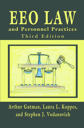 EEO Law and Personnel Practices book cover