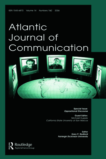 Oppositional Discourses Ajc V14 1&2 book cover