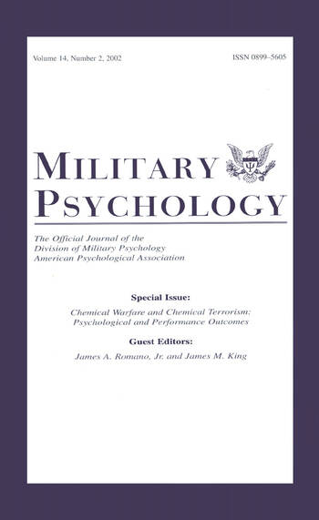 Operational Psychology Mp V18 2006 TRAINING & DEVELOPMENT ISSU book cover