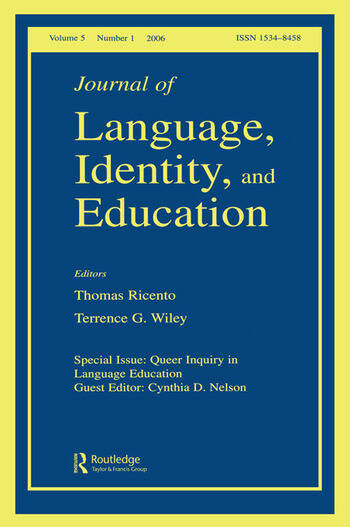 Queer Inquiry In Language Education Jlie V5#1 book cover