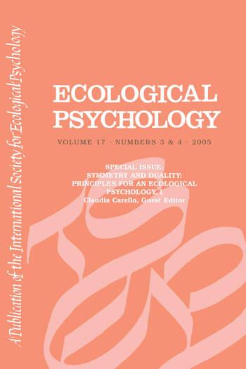 Symmetry And Duality Eco V17#3&4 book cover