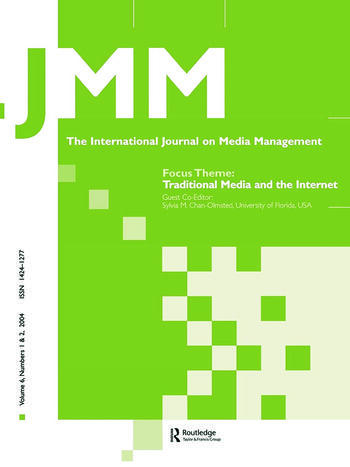 Traditional Media and the Internet The Search for Viable Business Models: A Special Double Issue of the International Journal on Media Management book cover