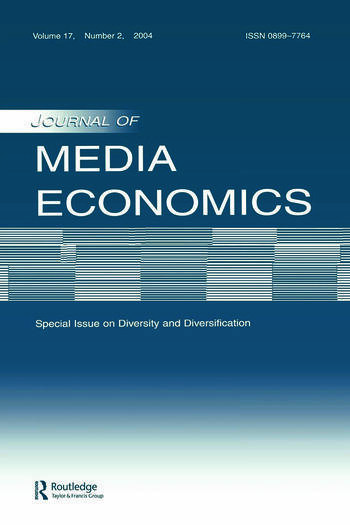 Diversity and Diversification A Special Issue of the journal of Media Economics book cover