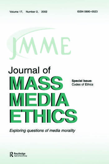 Codes of Ethics A Special Issue of the journal of Mass Media Ethics book cover