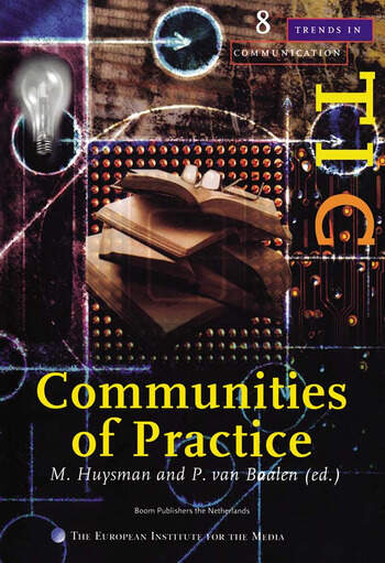 Communities of Practice A Special Issue of trends in Communication book cover