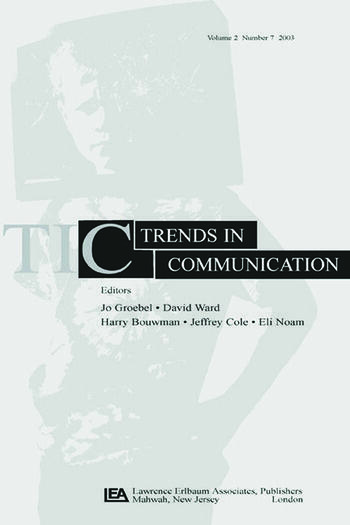 Convergence A Special Issue of trends in Communication book cover