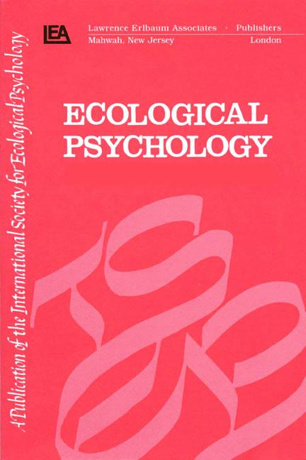 Nonlinear Dynamics and Psycholinguistics A Special Double Issue of ecological Psychology book cover