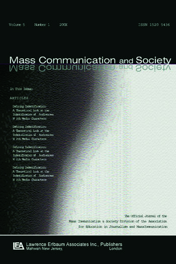 International Communication History A Special Issue of mass Communication & Society book cover