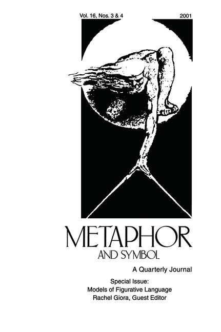 Models of Figurative Language A Special Double Issue of Metaphor and Symbol book cover