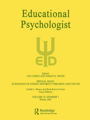 The Schooling of Ethnic Minority Children and Youth A Special Issue of Educational Psychologist book cover
