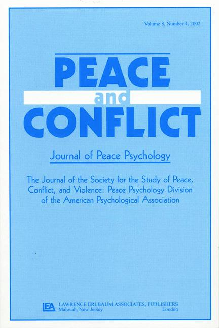 Civil Political Discourse A Special Issue of peace & Conflict book cover