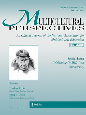 Special Issue: Celebrating Name's 10th Anniversary A Special Issue of multicultural Perspectives book cover